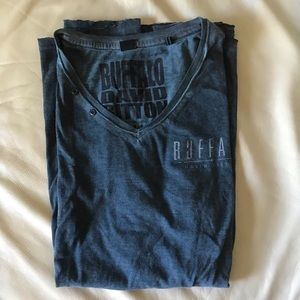Buffalo David Bitton Distressed Tshirt Size M